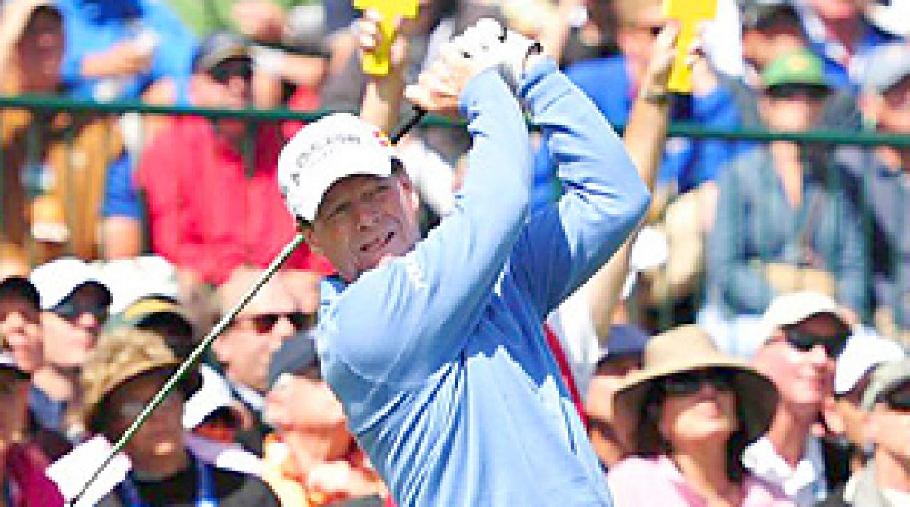 Tom Watson tied for 29th place at Pebble Beach.
