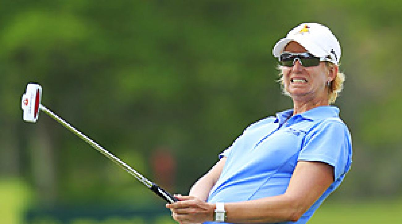 Karrie Webb shot a final-round 69 to win the HSBC Champions by one shot.