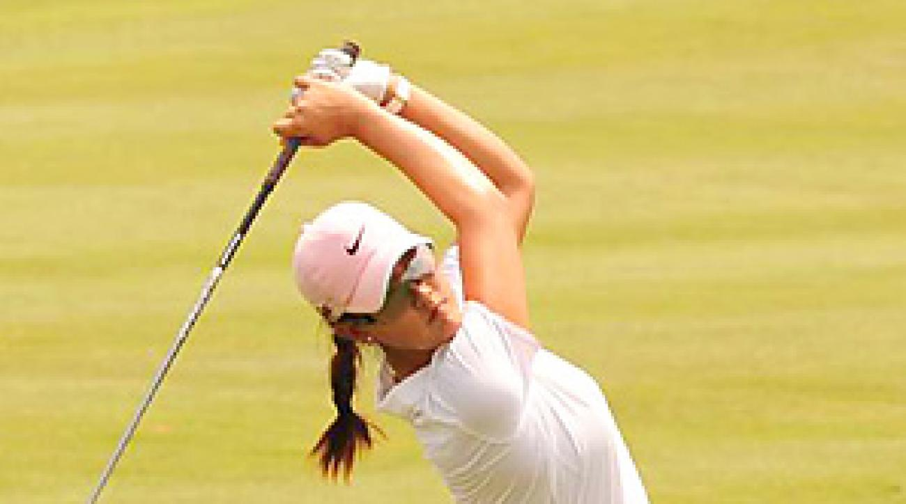 Michelle Wie finished with her worst professional round since an 84 at the Evian Masters in 2007.
