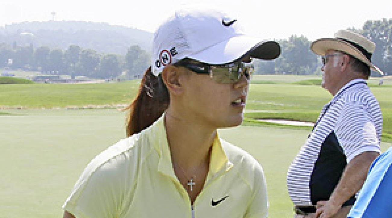 Michelle Wie is seeking her first major title this week at Oakmont.