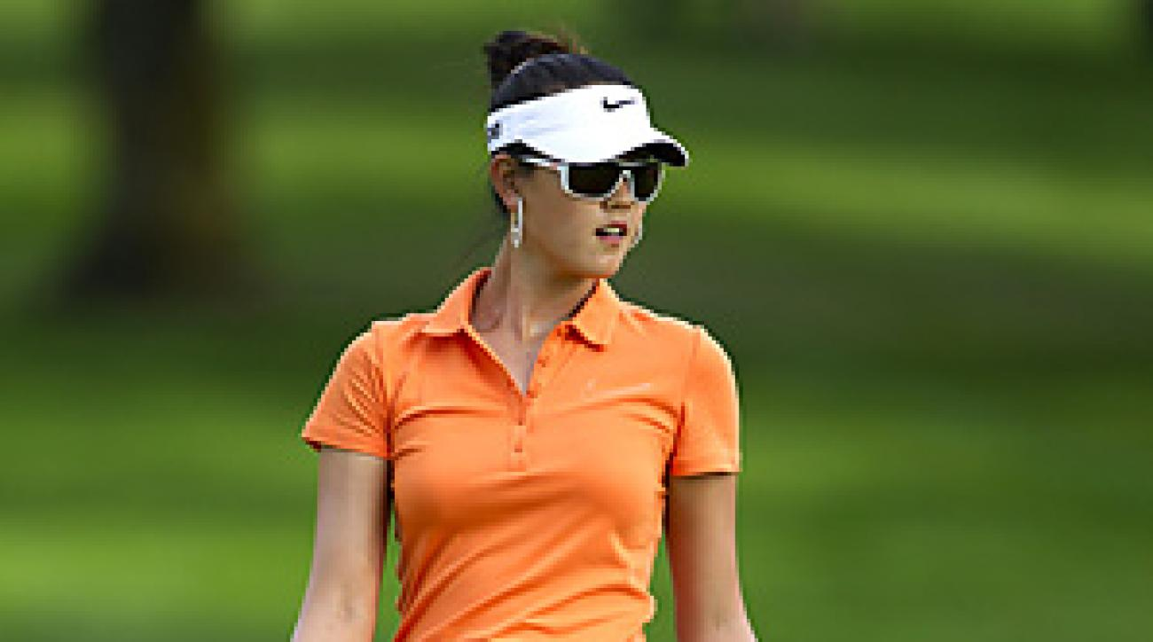Michelle Wie shot a 68 on Saturday at the Canadian Women's Open.