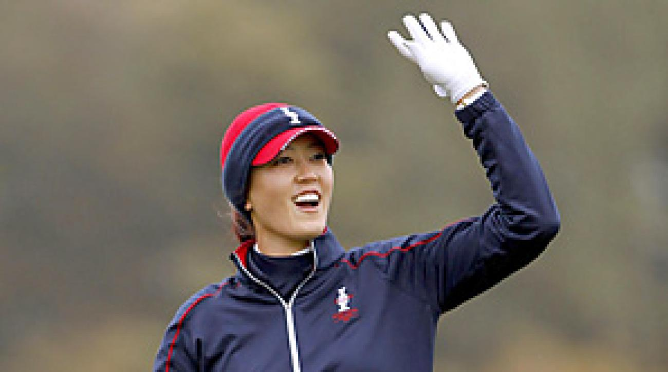 Michelle Wie will attempt to help the U.S. win a fourth straight Solheim Cup this weekend in Ireland.