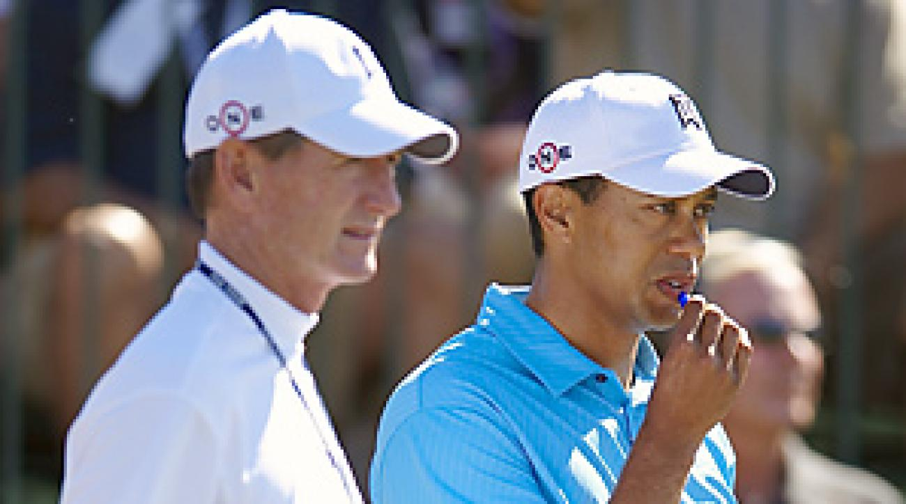 Hank Haney first began working with Tiger Woods in 2004.