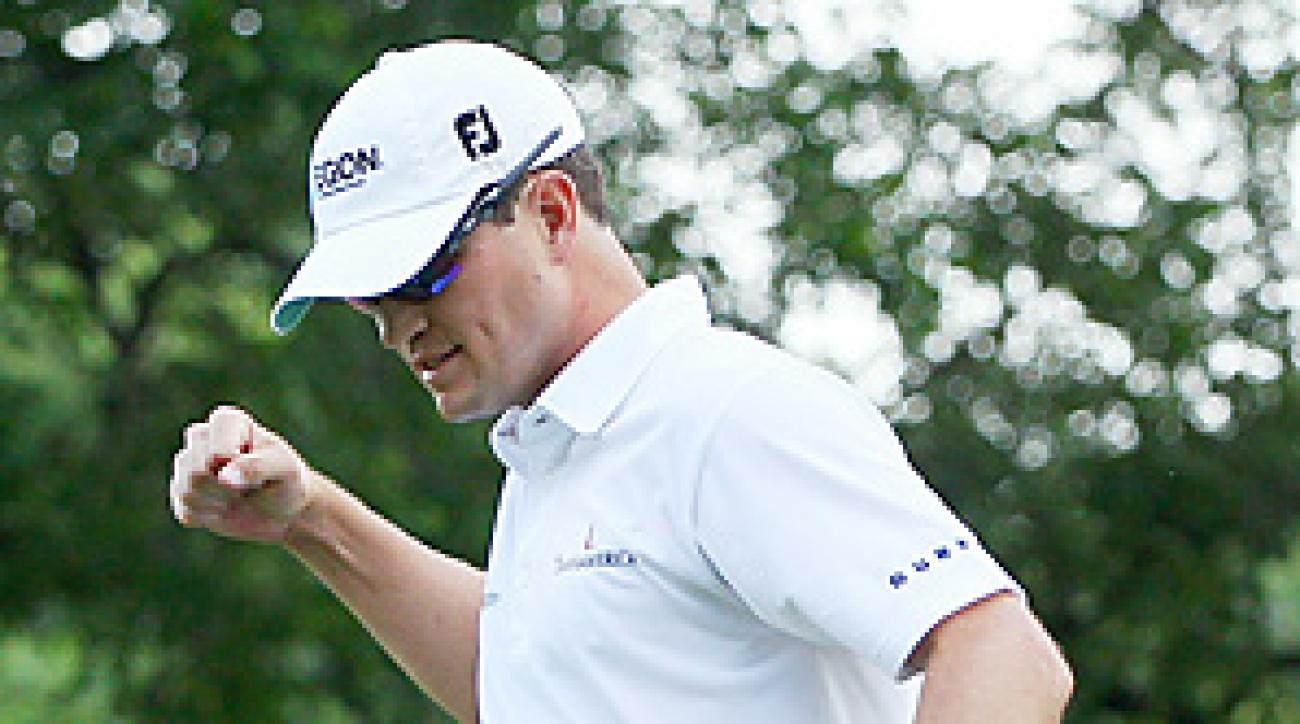 Zach Johnson Sunday at Colonial.