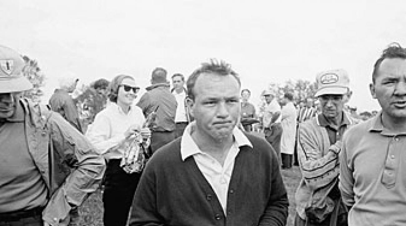 Arnold Palmer finished second to Jack Nicklaus in the race for the money title in 1964.