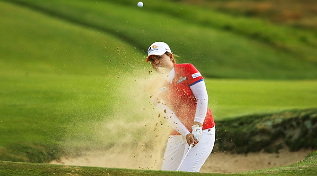 Inbee Park made four birdies and three bogeys for a 71.