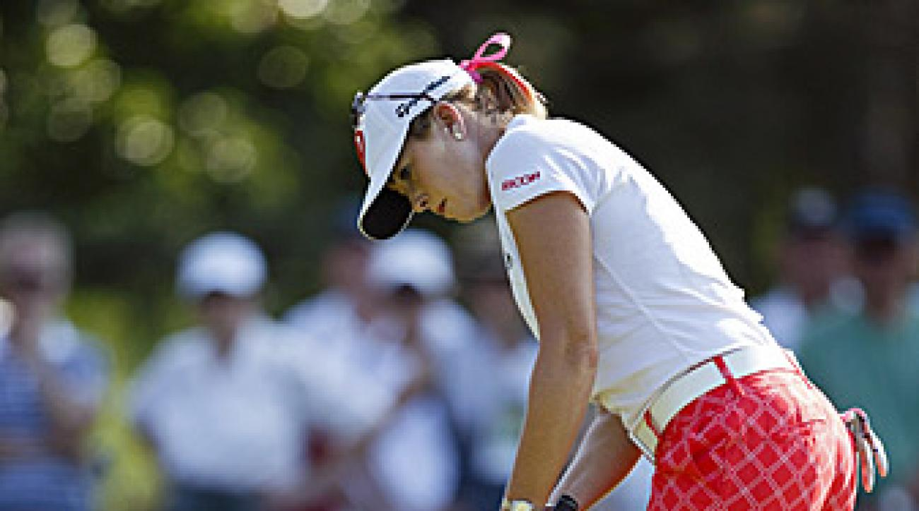 Paula Creamer fired a three-under 68 on Friday.