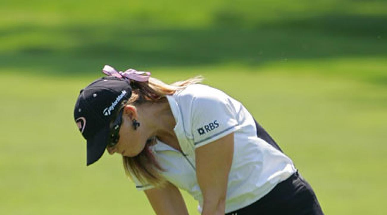 In 10 starts this season, Creamer has five top-10 finishes but no victories.