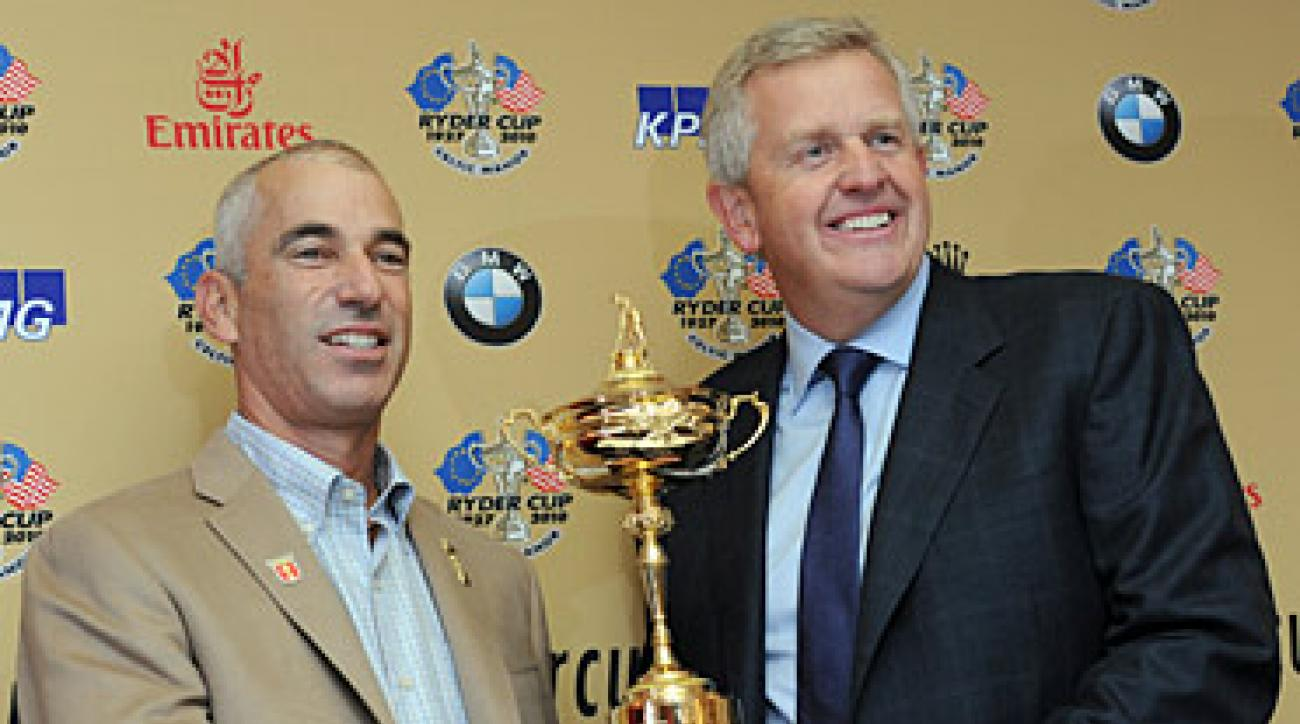 The Americans have not won the Ryder Cup on European soil since 1993.