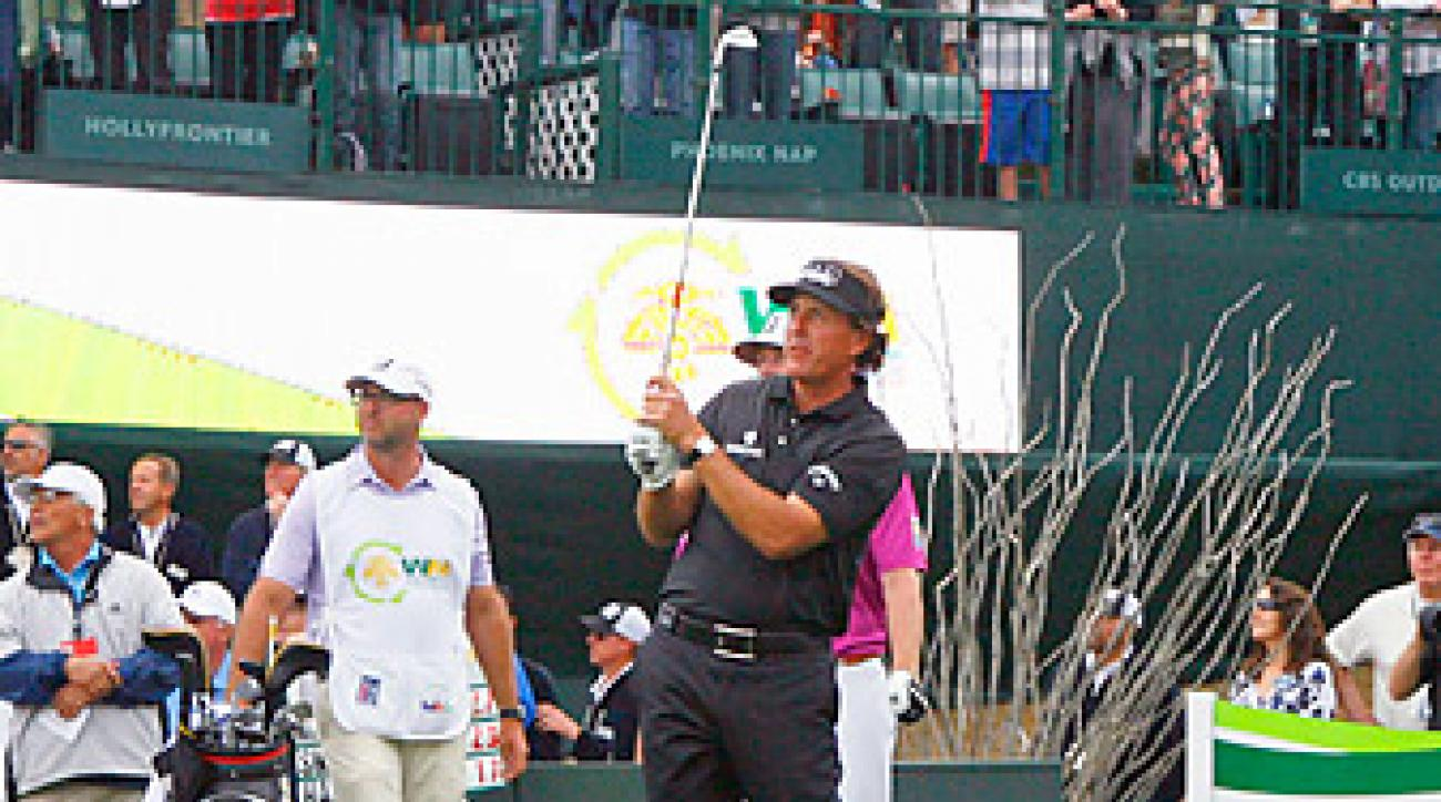 Phil Mickelson won the Phoenix Open in 2013.