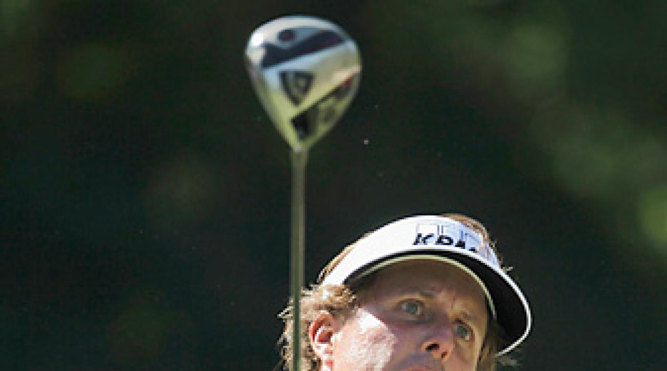 Phil Mickelson makes his 2012 debut this week.