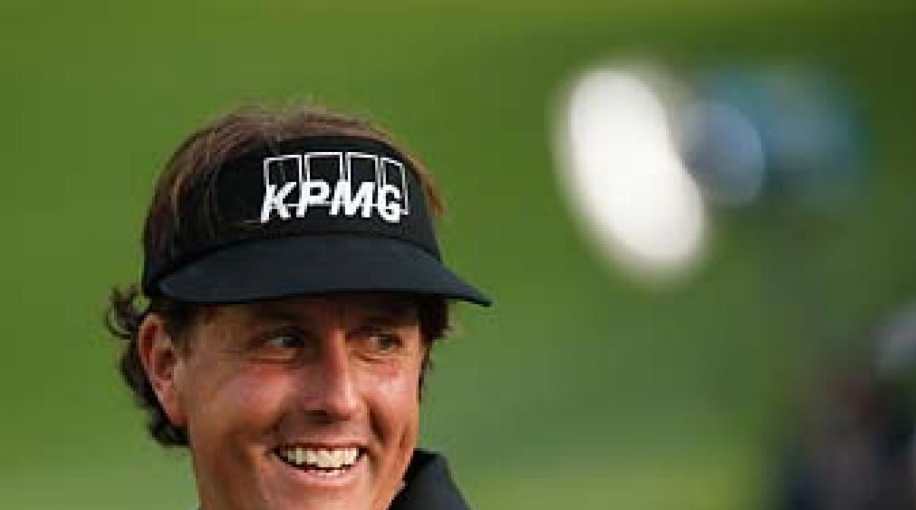 """If I can play as well as I can at the same time Tiger is doing the same, I would love that opportunity,"" Phil Mickelson said at the PGA Championship on Tuesday."