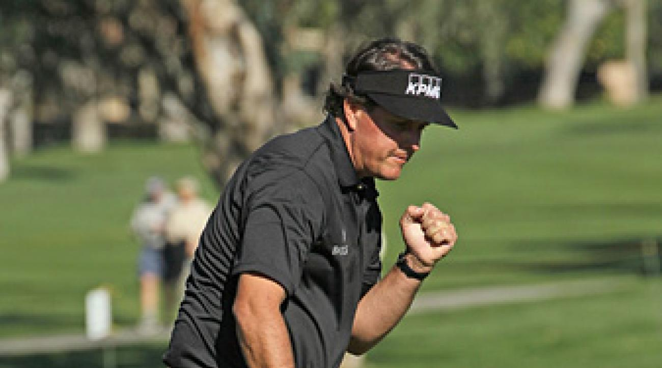 Mickelson says he has figured out his putting stroke, which he believes will lead to more success on the course.