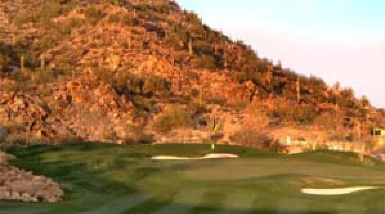 The hilly Canyon course