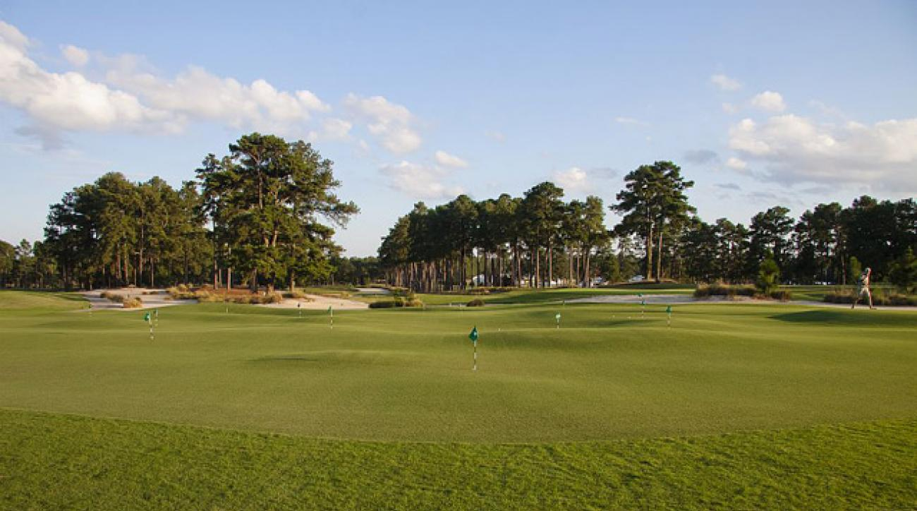 The Thistle Dhu putting course was built by Toby Cobb and Dave Axland, associates of Bill Coore and Ben Crenshaw.