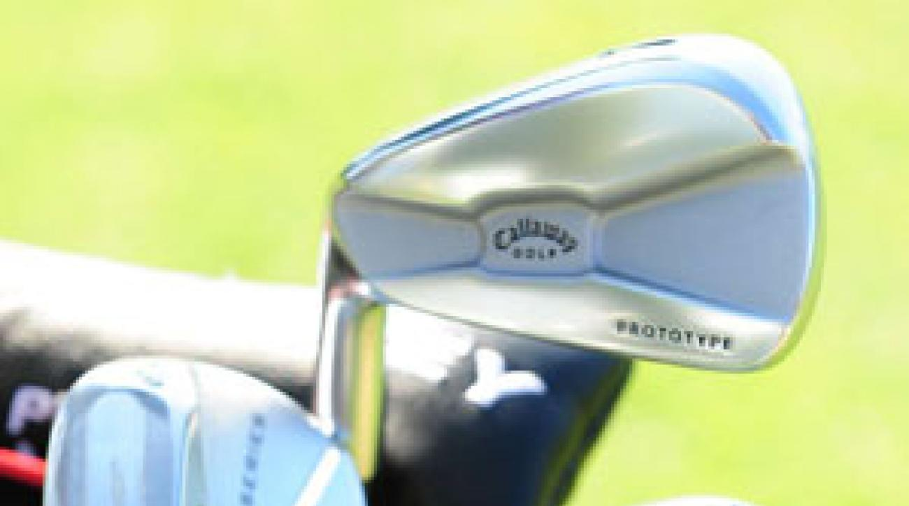 Ping Eye2 wedges in Phil Mickelson's bag at Torrey Pines.