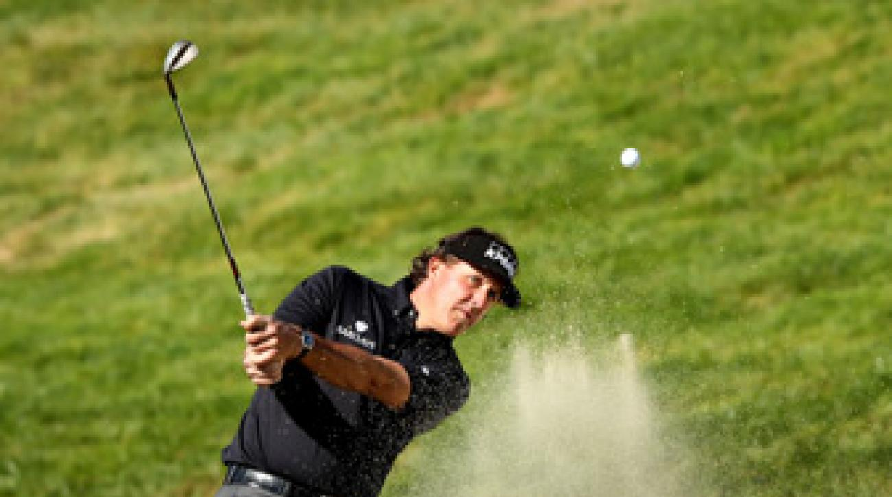 Phil Mickelson said he is looking forward to playing with Tiger Woods.