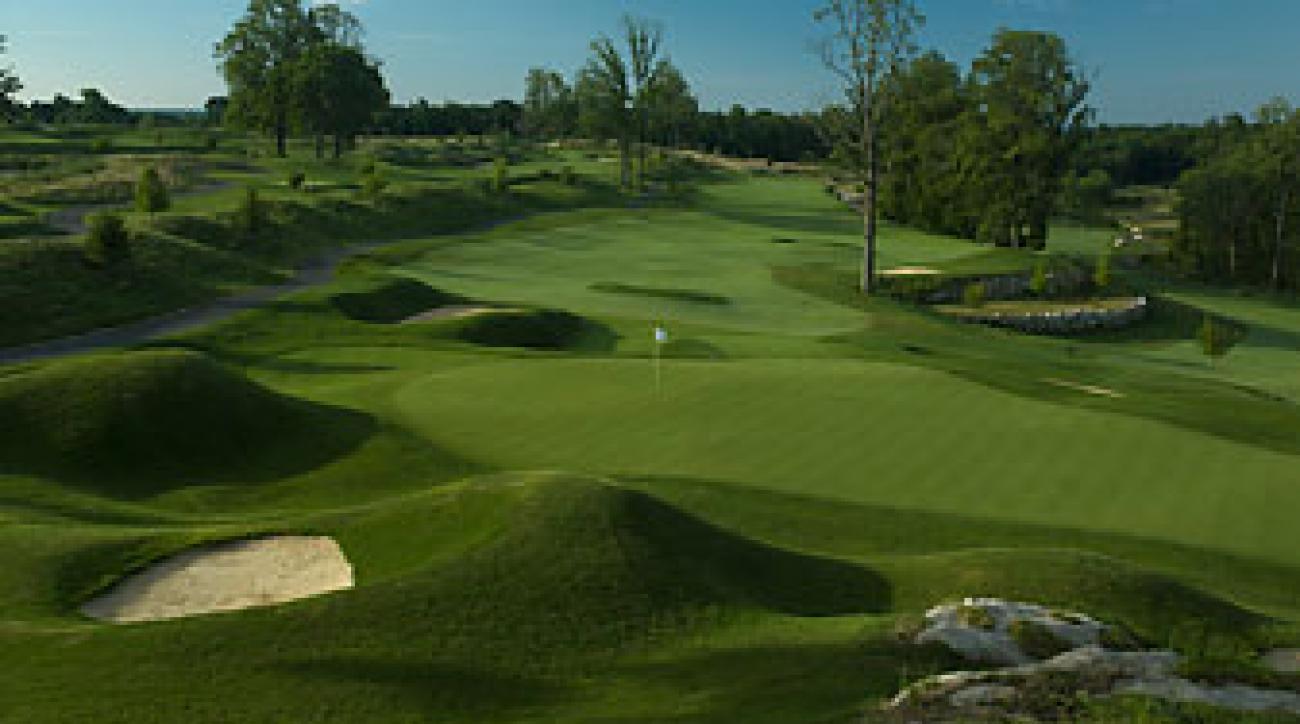 Speedy greens help make Pound Ridge U.S. Open-tough.