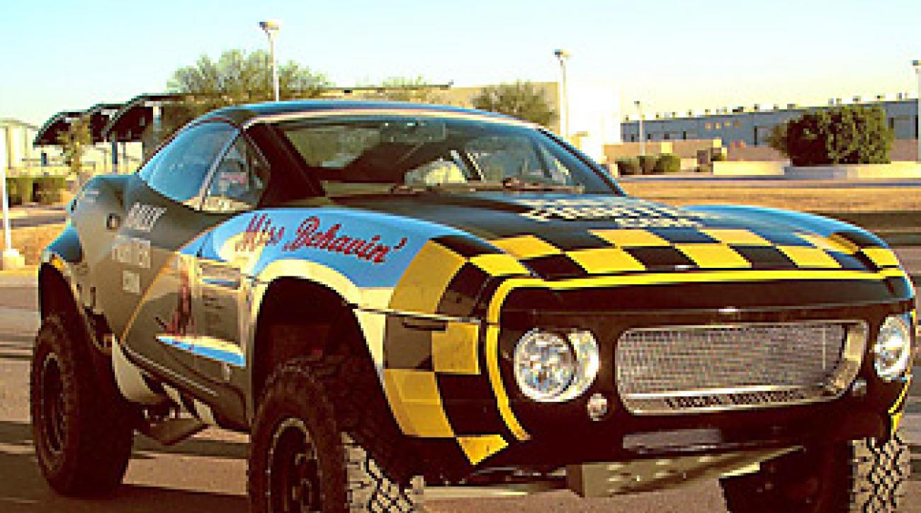 Local Motors' Rally Fighter goes for $75,000.