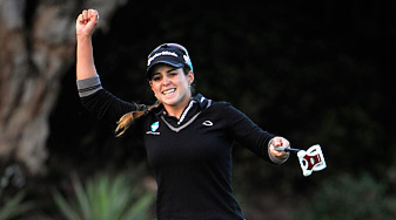 Beatriz Recari made five birdies and no bogeys.
