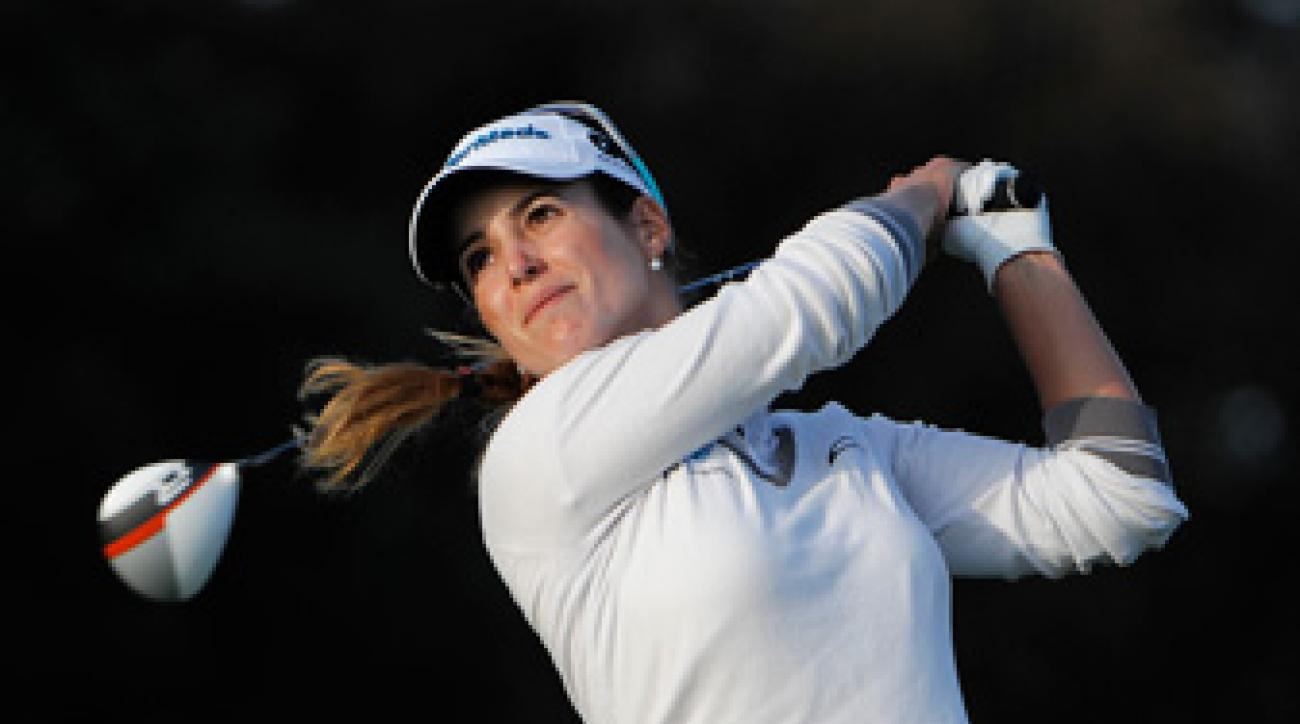 Beatriz Recari made an eagle and a birdie on Saturday.