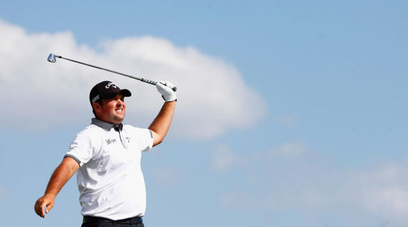 Patrick Reed shot a 1-over 73 and is currently in 27th place.