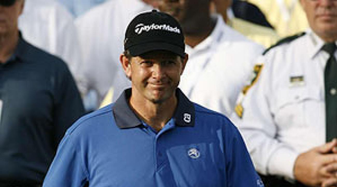 Retief Goosen has won the U.S. Open twice.