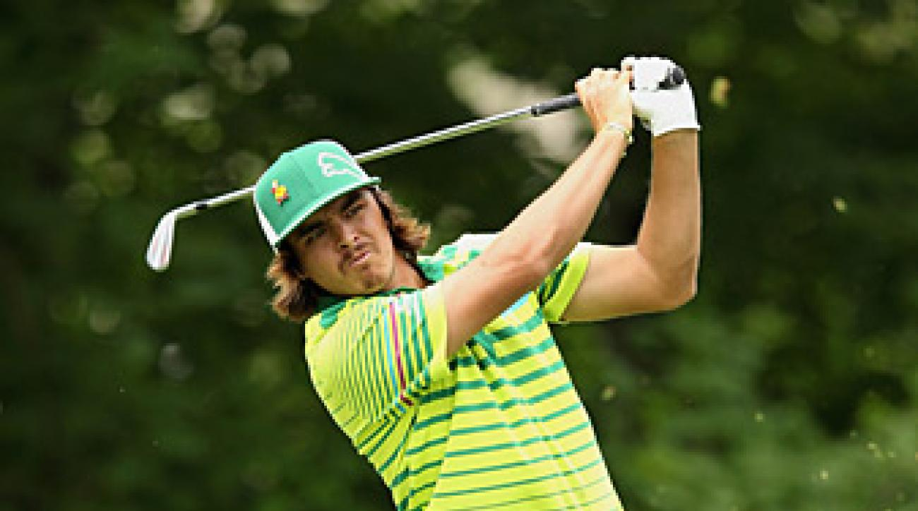 Rickie Fowler won his first PGA Tour event last month.