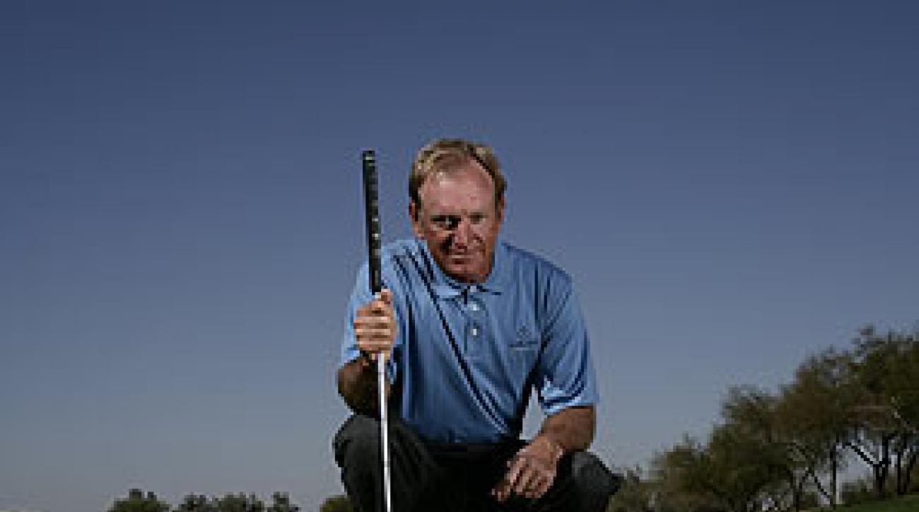 Get good at rolling the ball 10 paces and base every putt you read off that stroke.
