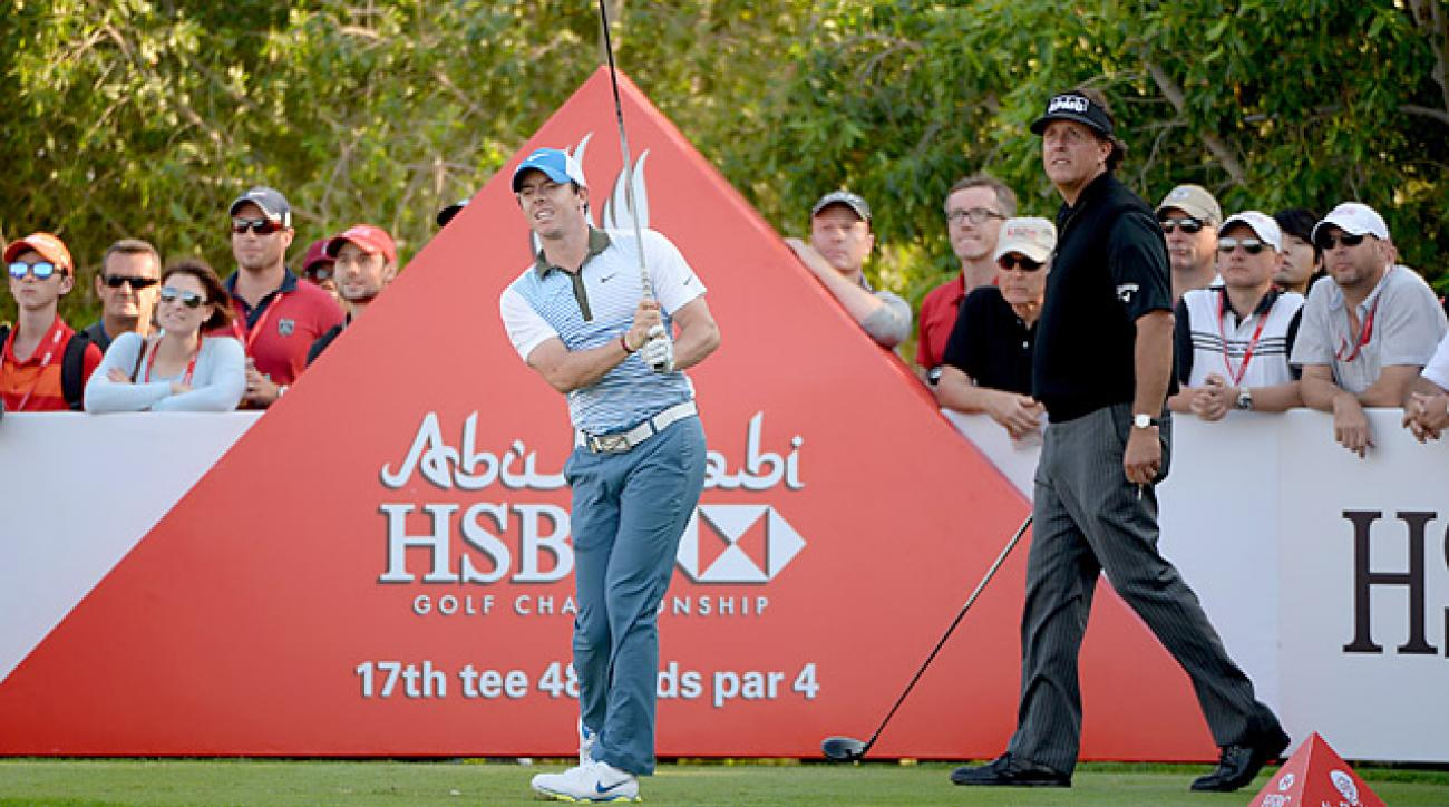 Rory McIlroy shot a five-under 67 on Friday.