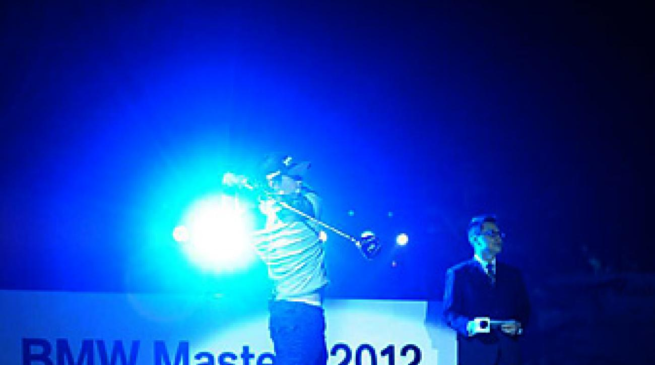 IN THE SPOTLIGHT: McIlroy's week at the BMW included four press conferences and a gala dinner, among other appearances.