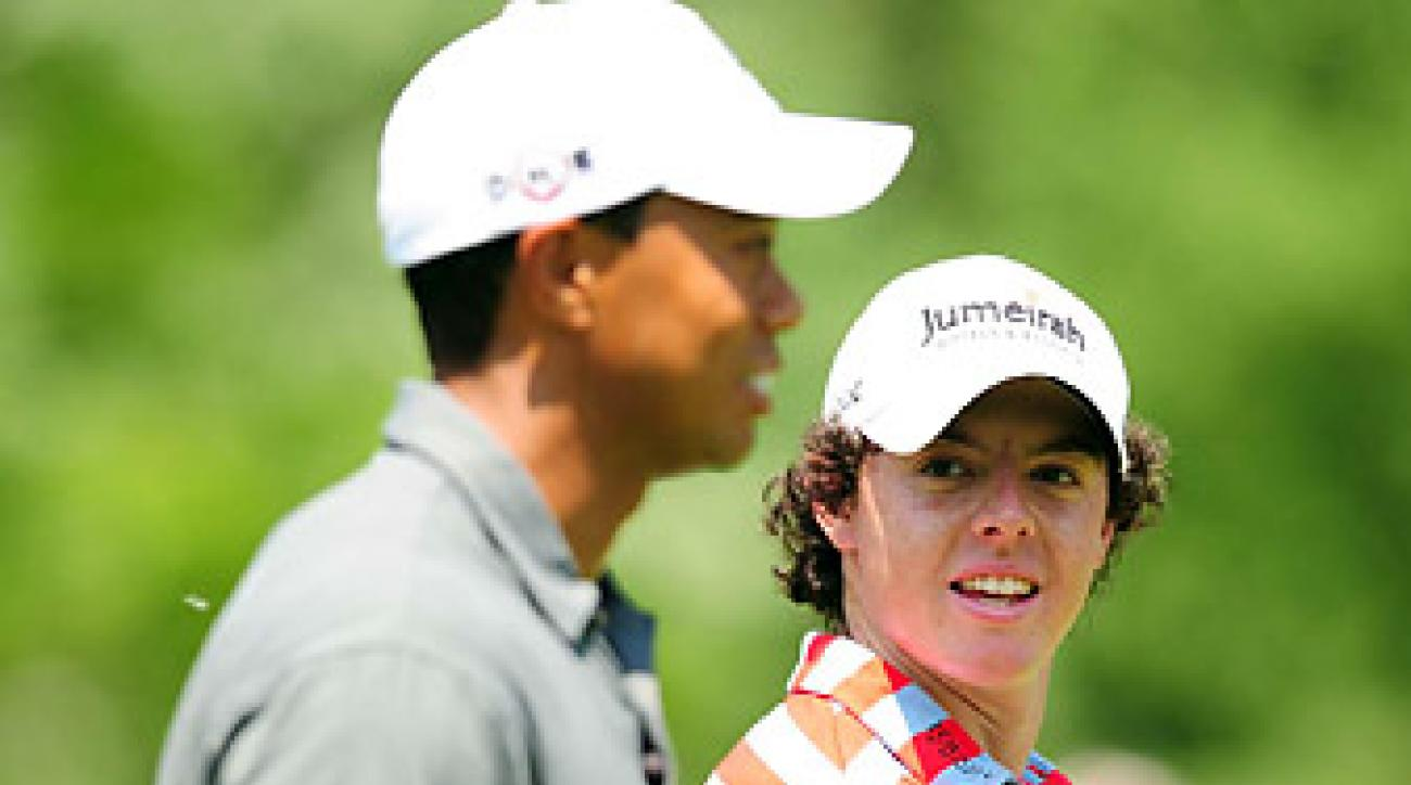 In Las Vegas, Tiger Woods and Rory McIlroy are the clear betting favorites to win the Masters