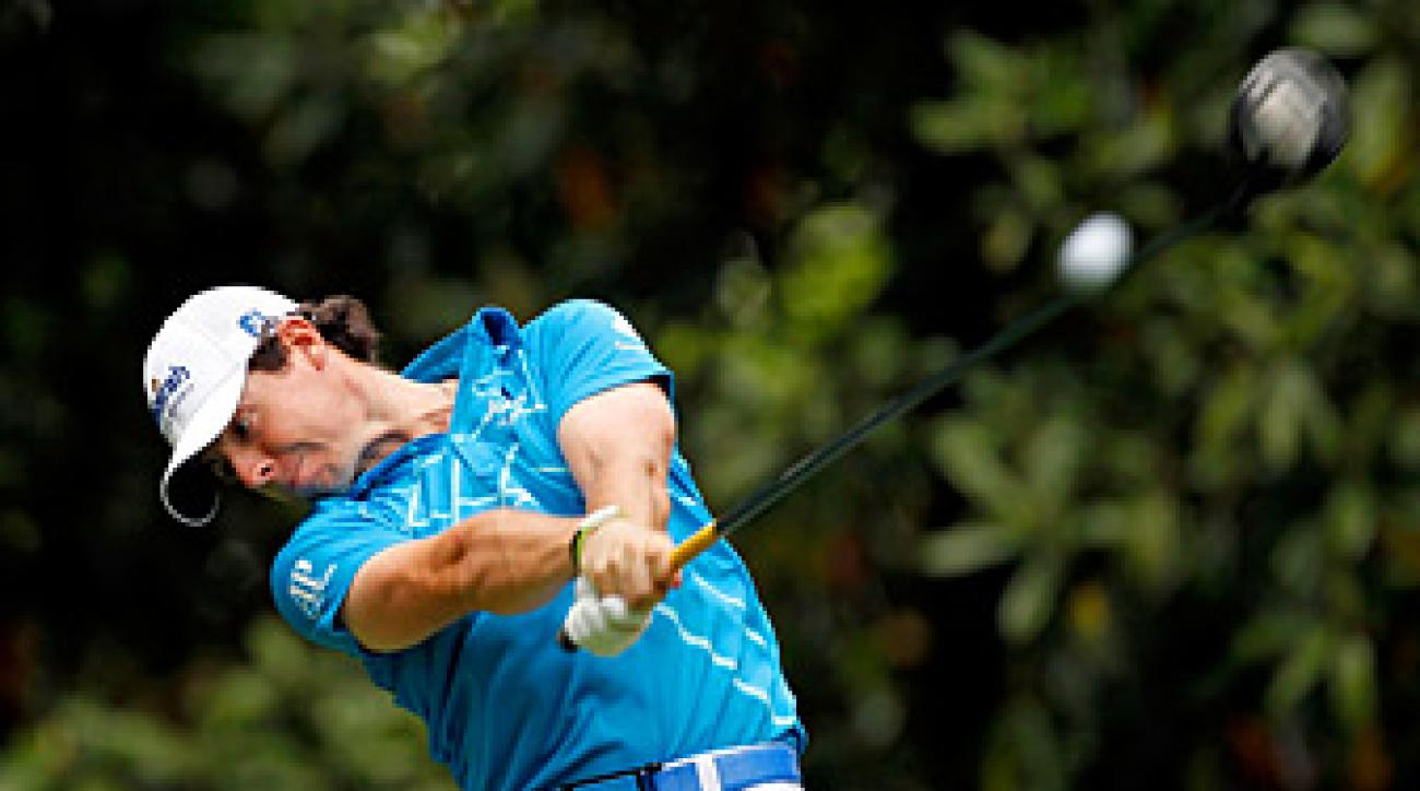 Rory McIlroy won his first PGA Tour event at Quail Hollow.