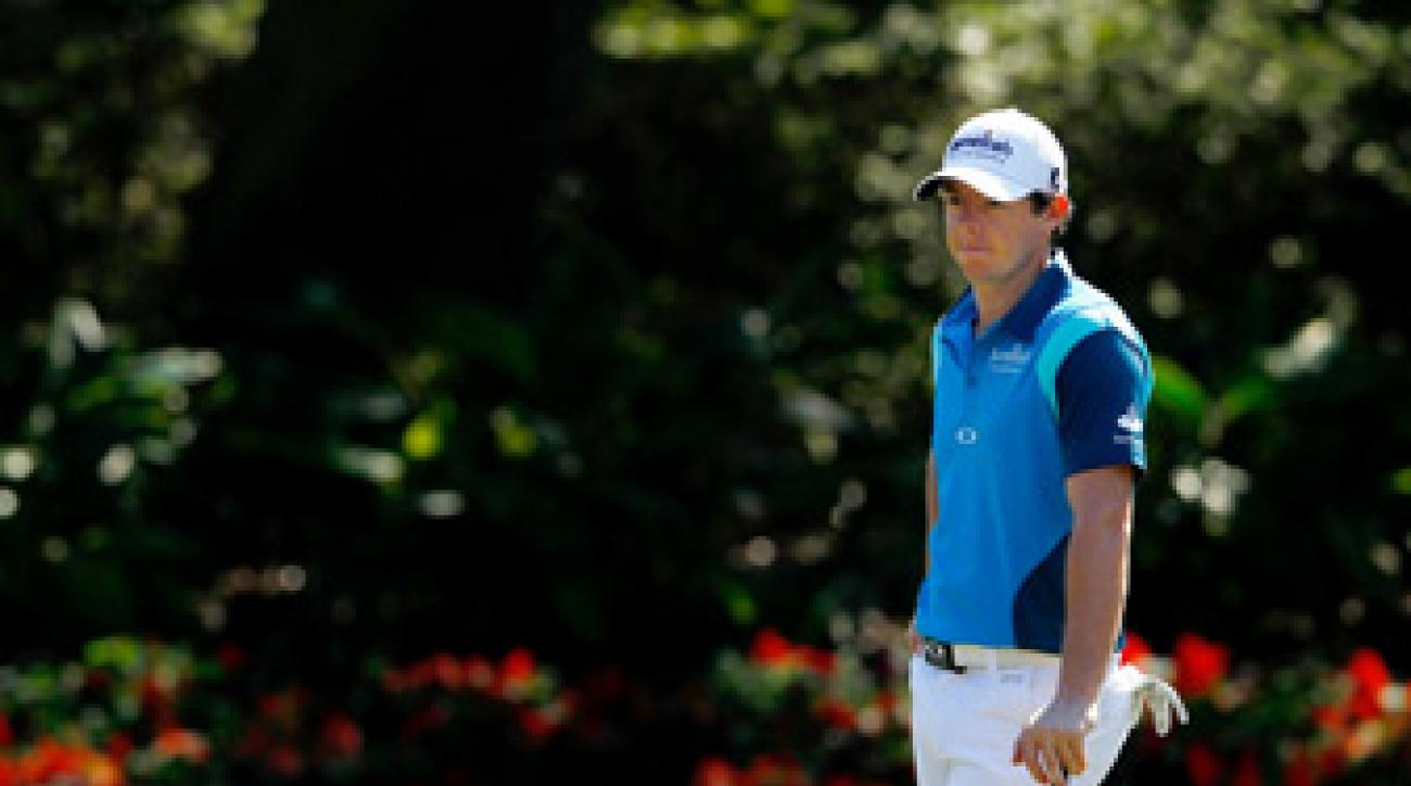 Rory McIlroy has yet to make the cut at the Players.