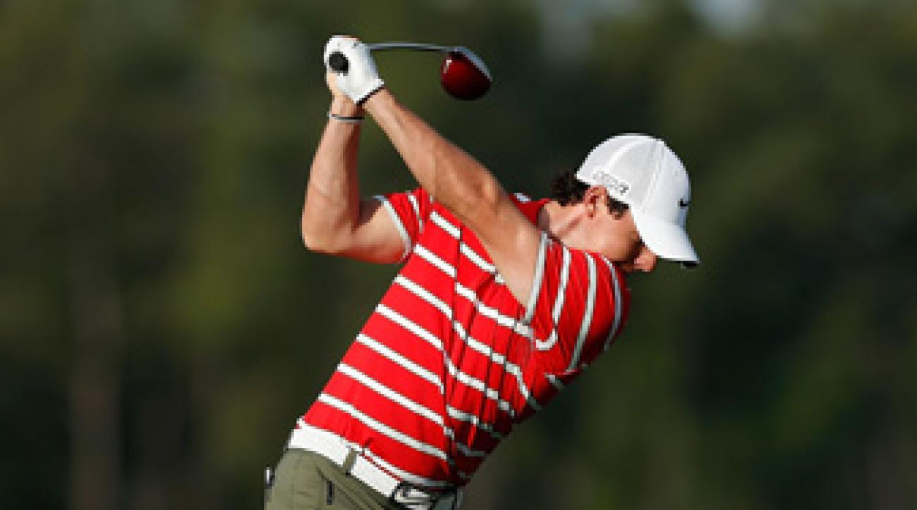 Rory McIlroy shot a one-under 71 on Saturday.