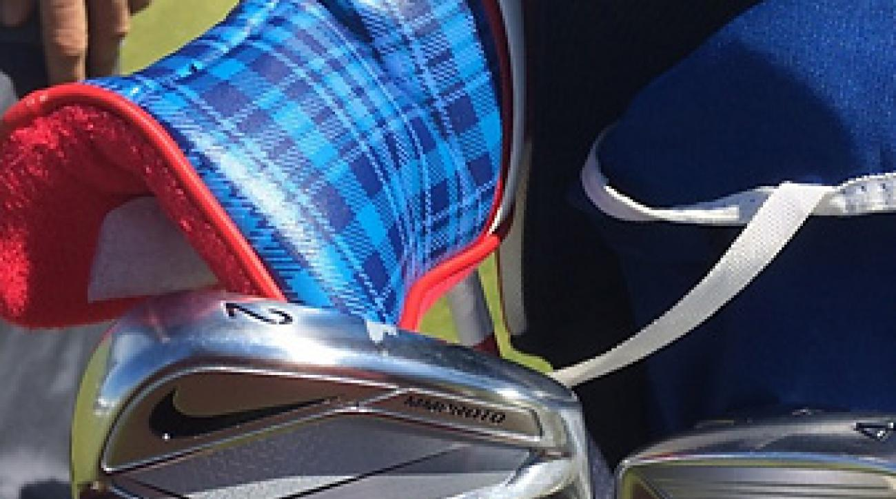 Rory McIlroy posted a photo of his Nike MM Proto 2-iron on Instagram.