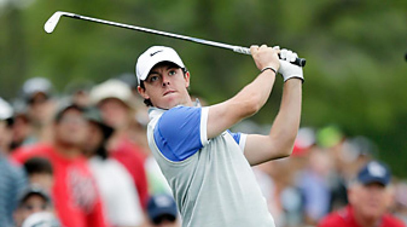 Rory McIlroy faces Shane Lowry in the first round of the Match Play Championship.