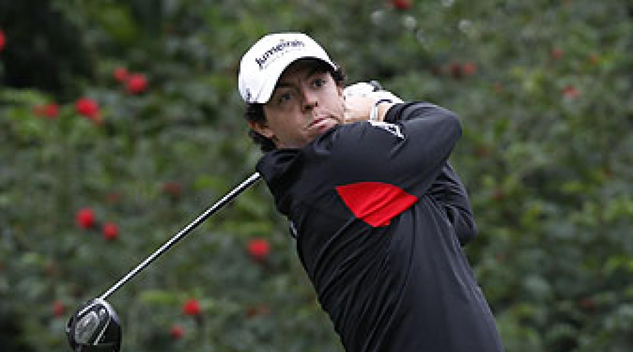 Rory McIlroy made six birdies and no bogeys.