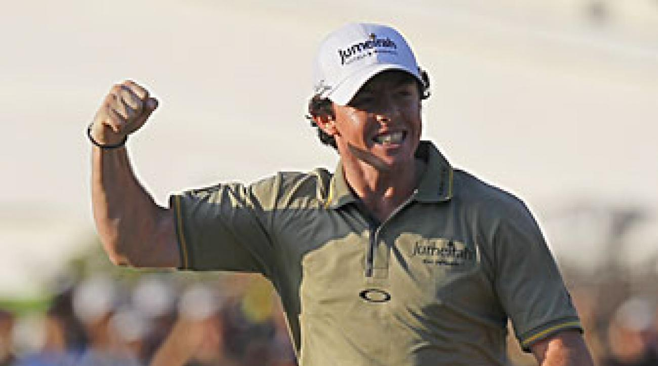 Rory McIlroy shot a five-under 65 in the final round.