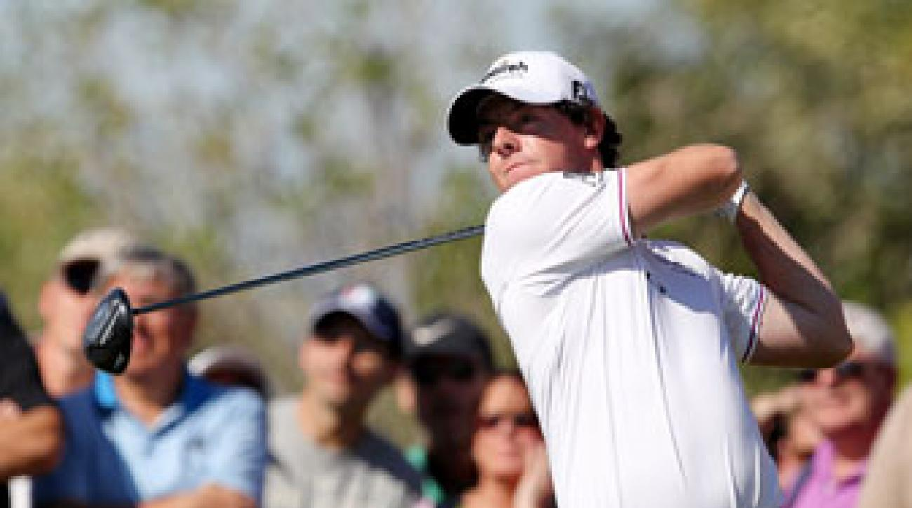 Rory McIlroy, Round 2, 2011 Dubai