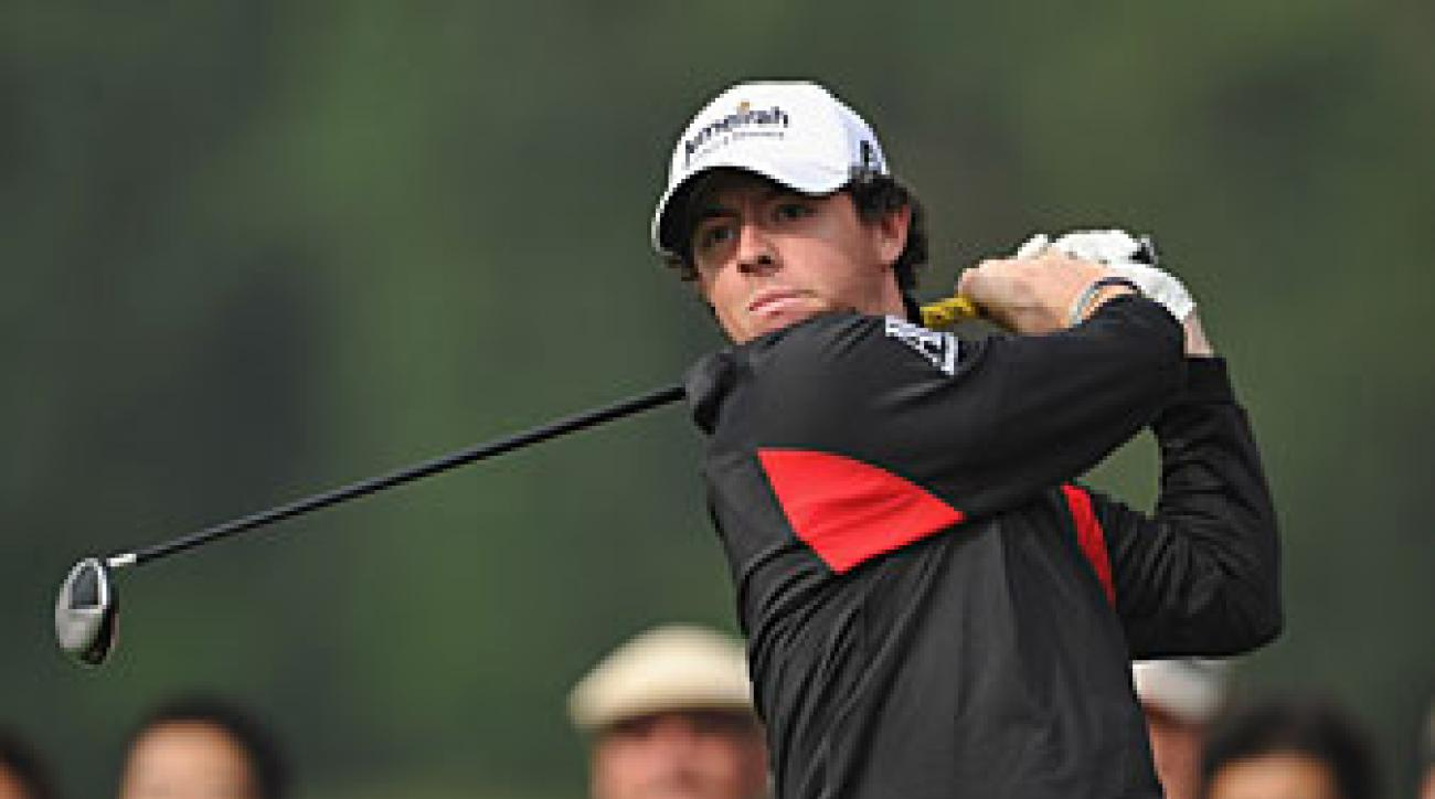 Rory McIlroy played five times in the last two months of the season.