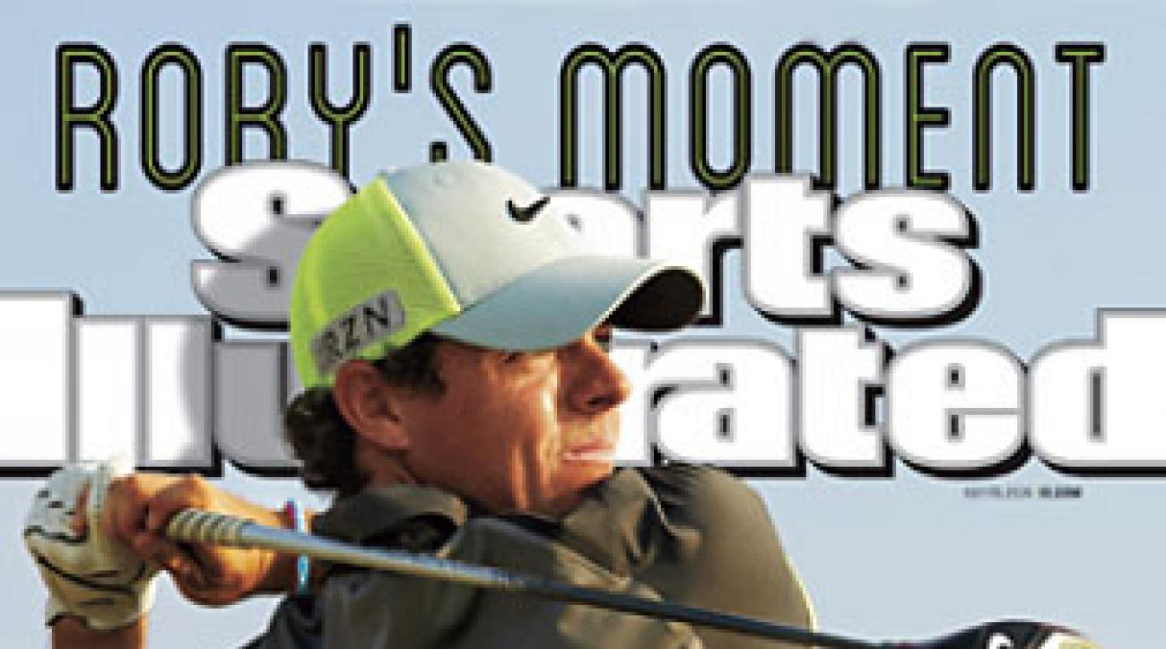 Rory McIlroy was the first golfer not named Tiger Woods to appear on the cover of SI in more than three years.