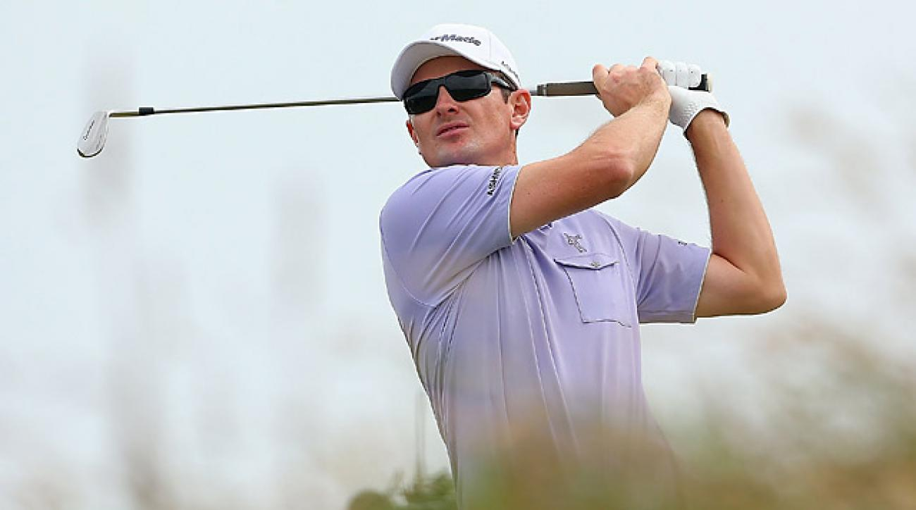 Justin Rose is in fine form heading into next weekend's British Open.