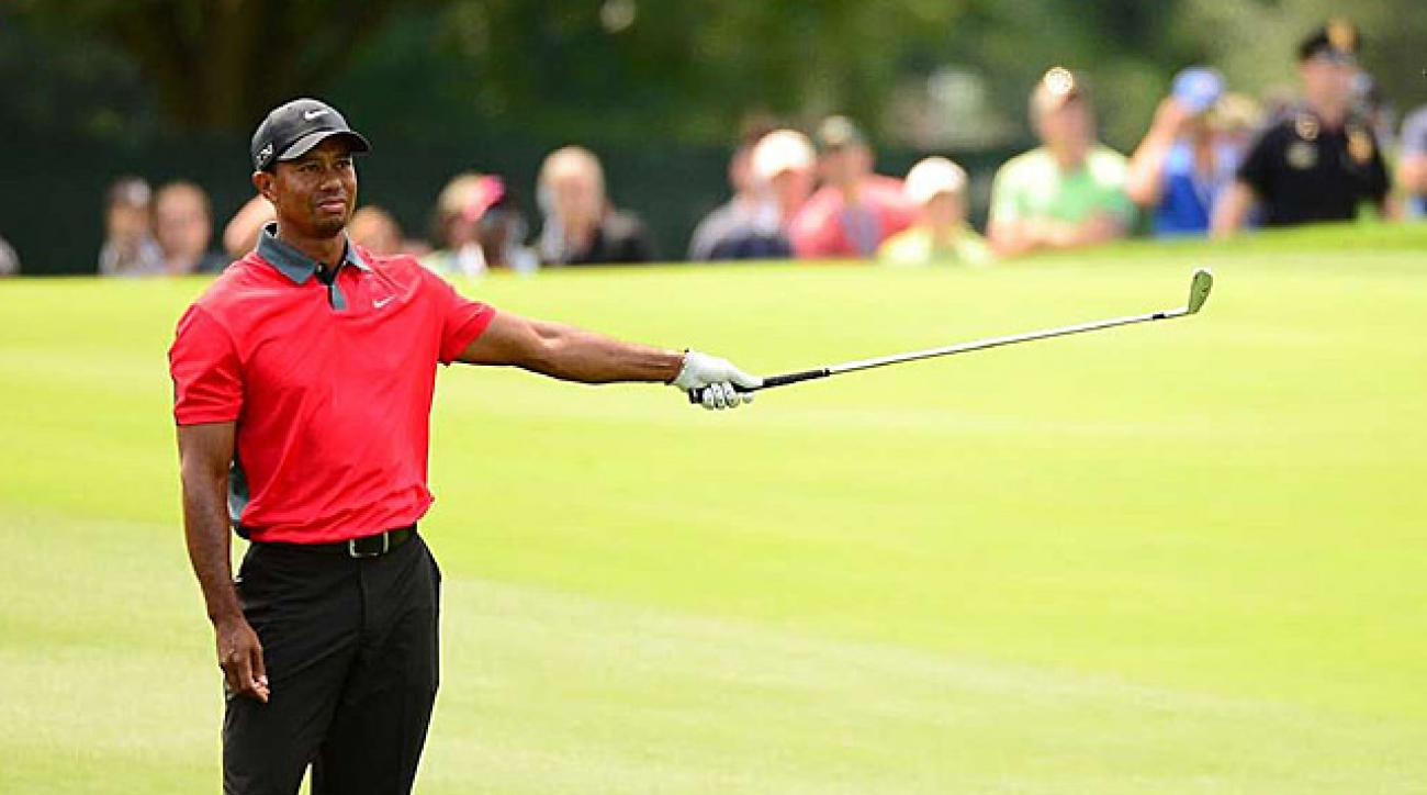 Tiger Woods will have to wait until April for another shot at his 15th major.