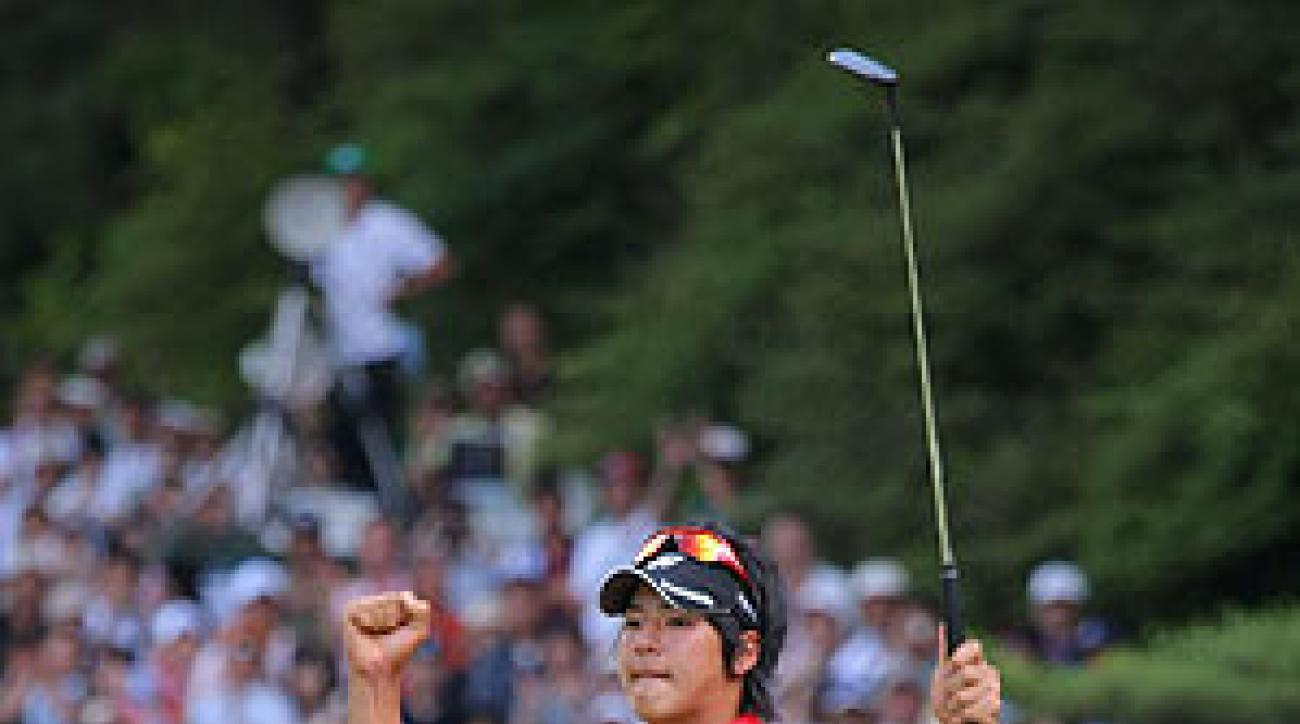 This was Ishikawa's first victory of the year.