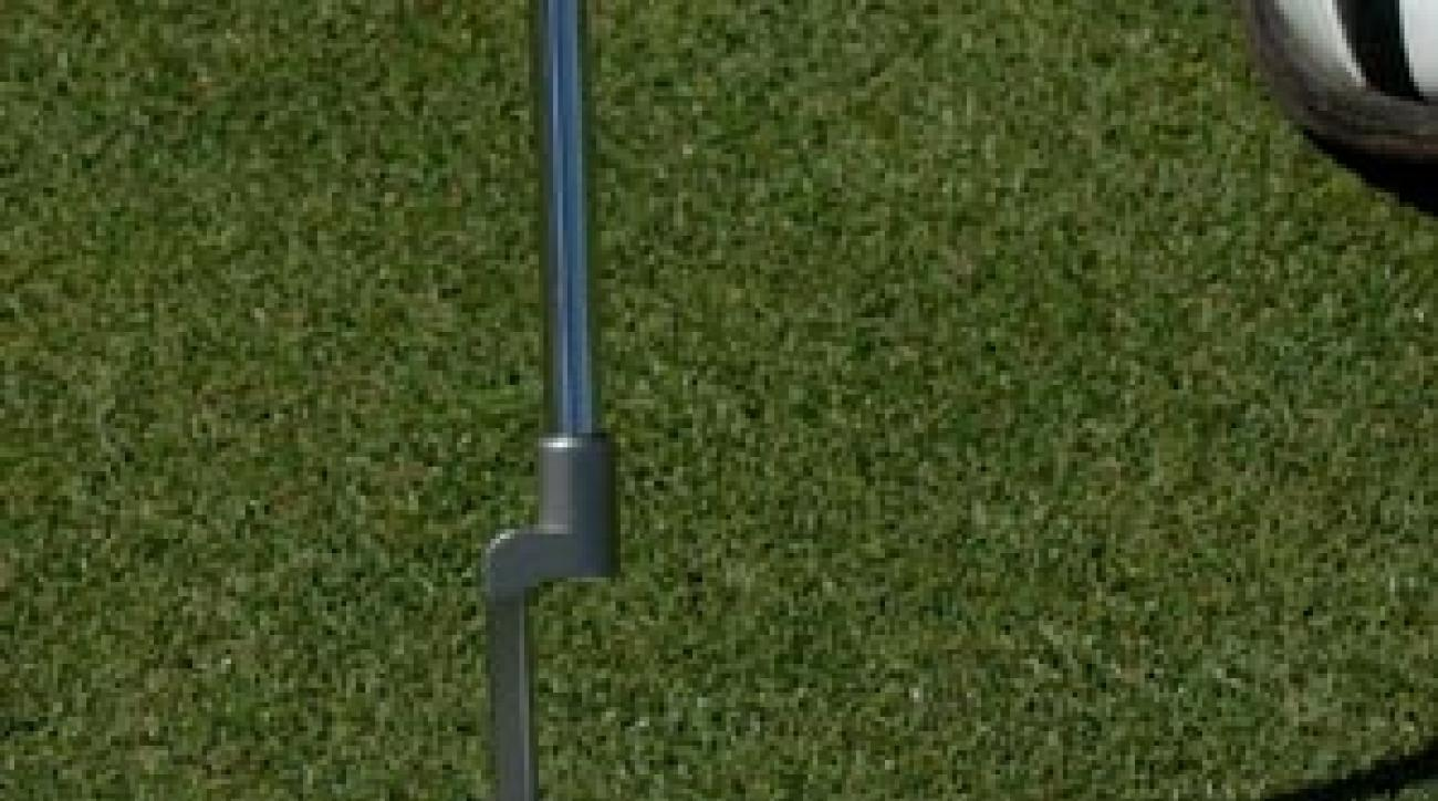 Use an old CD to see where your eyes sit at address. Eyes inside or outside the ball decrease the likelihood of hitting the putt on your intended line.