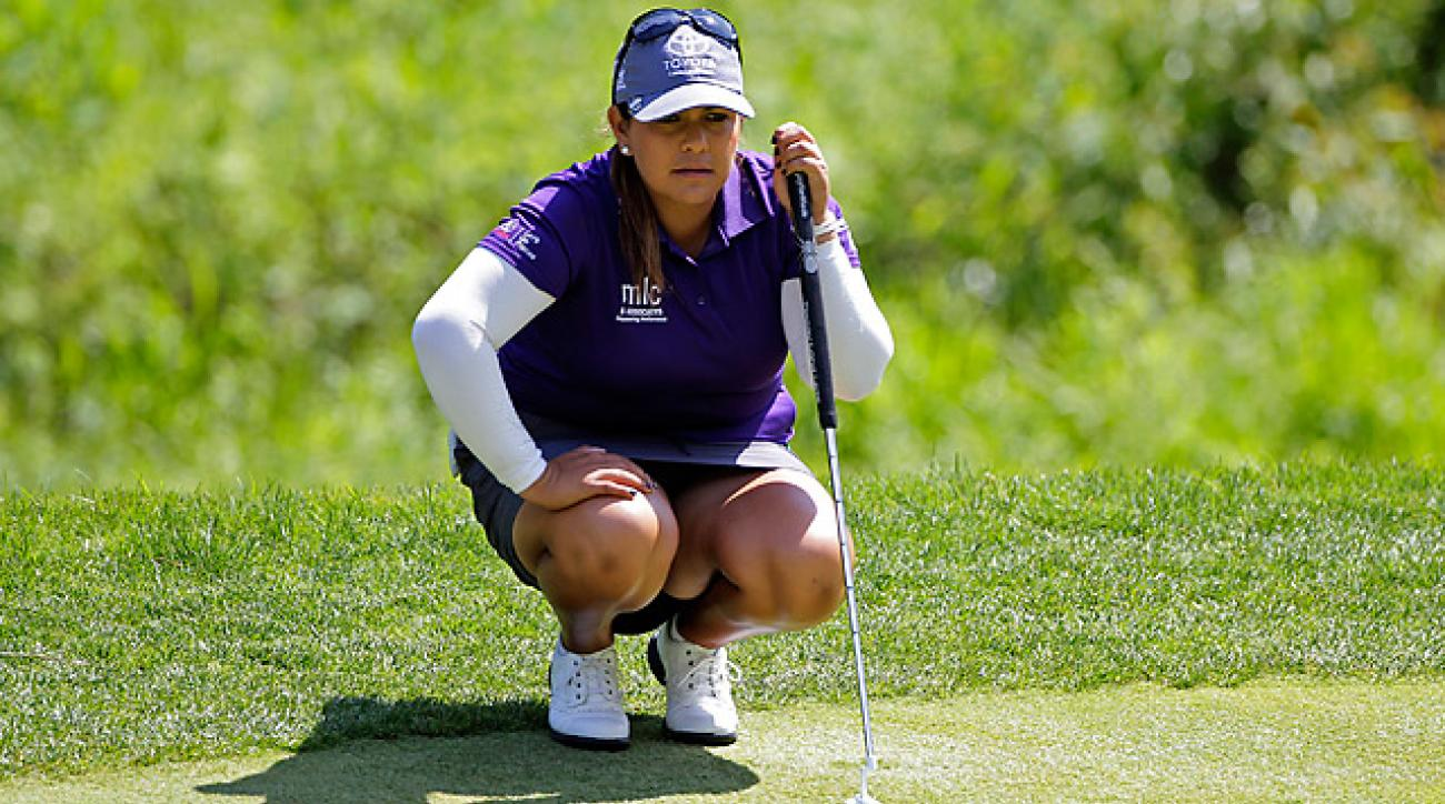 Lizette Salas shot a 65 in the third round.
