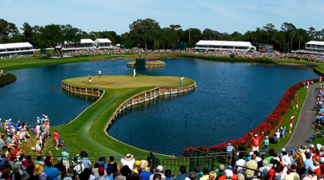 You know it well: the island-green 17th at TPC Sawgrass.
