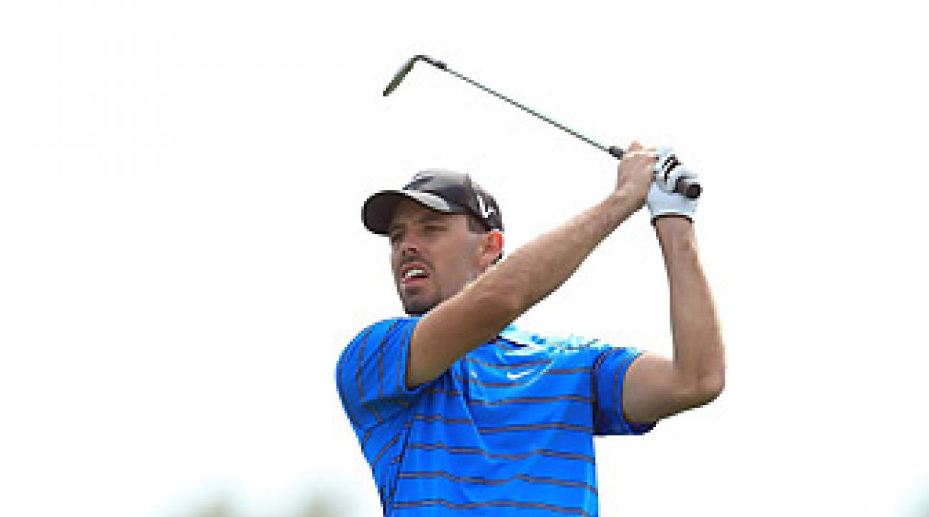 Charl Schwartzel is four shots back after a first-round 68.