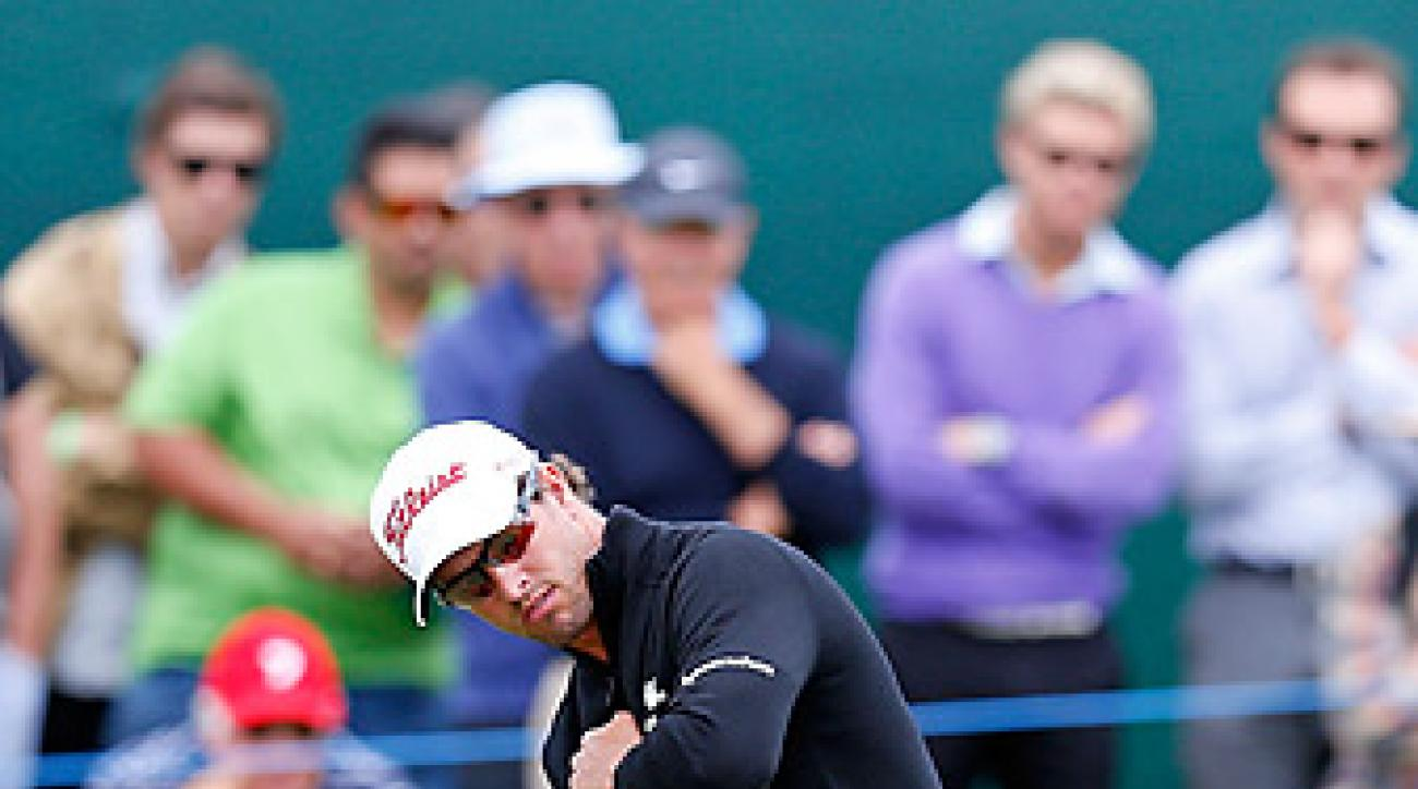 Adam Scott shot a five-under 67 in the first round.